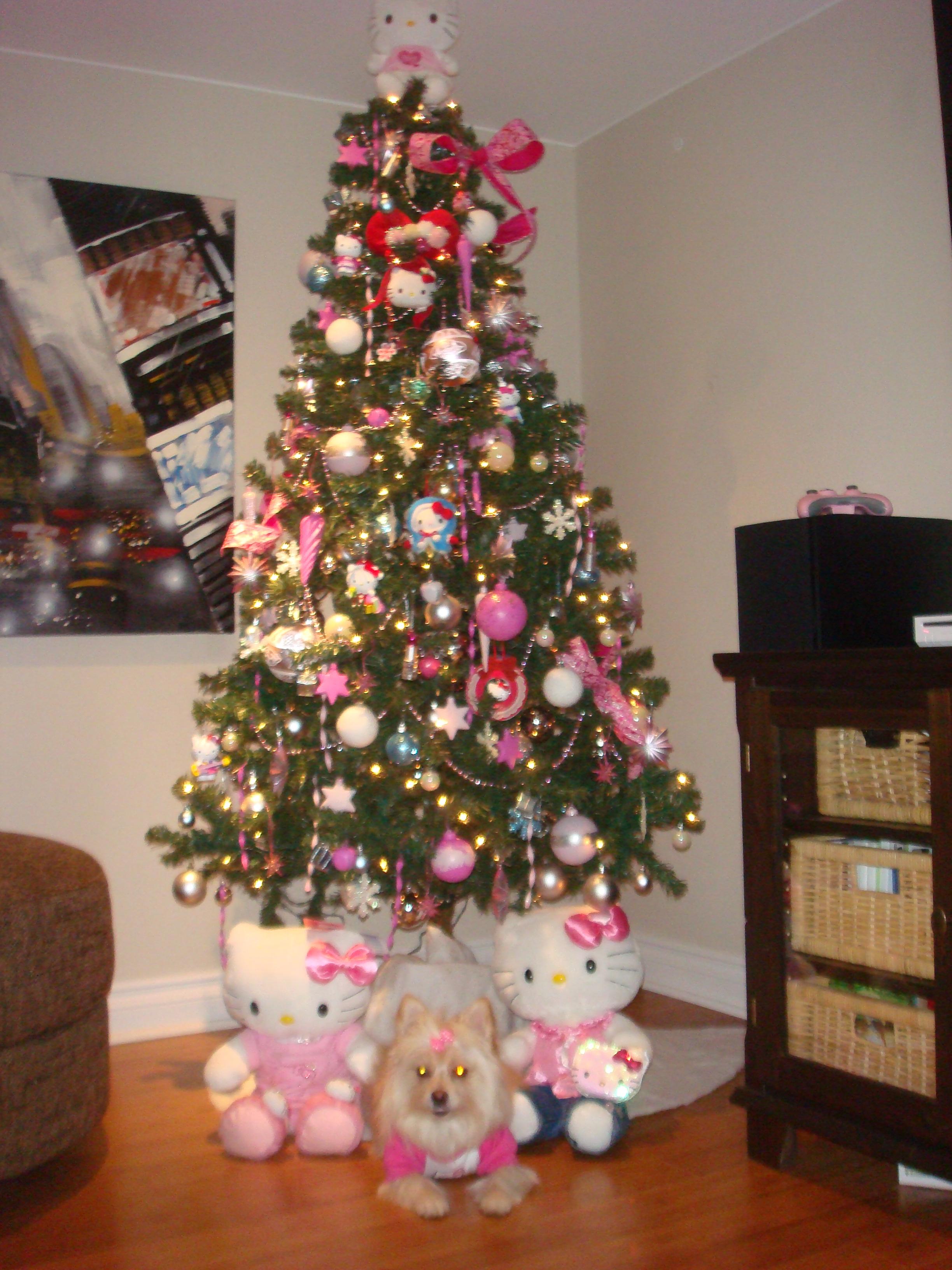 Hello Kitty Christmas Tree And