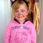 hello kitty kid costume