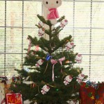 hello kitty mini christmas tree