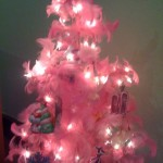hello kitty pink tree