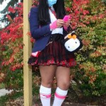 hello kitty schoolgirl costume