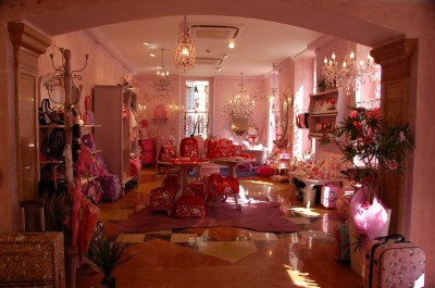 Hello Kitty Italy shop