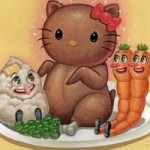 hello kitty thanksgiving dinner