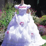 Hello Kitty wedding dress