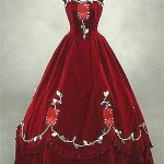 Hello Kitty wedding dress red