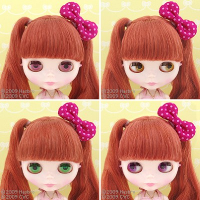 Hello Kitty Blythe doll eyes