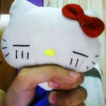 hello kitty choking