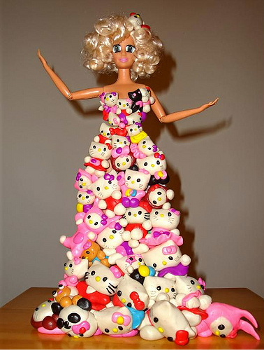 Hello Kitty Lady Gaga Barbie