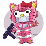hello kitty optimus prime
