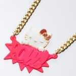 hello kitty pow ambush pink necklace