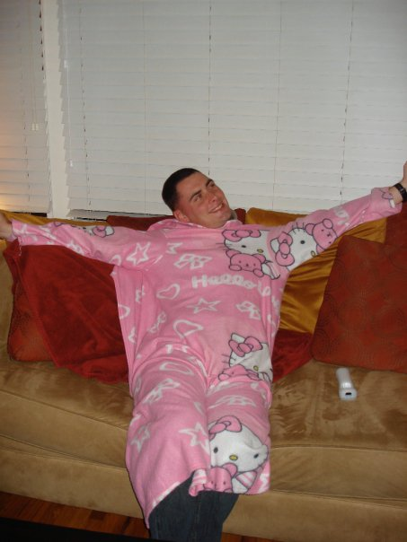 Hello Kitty Snuggie