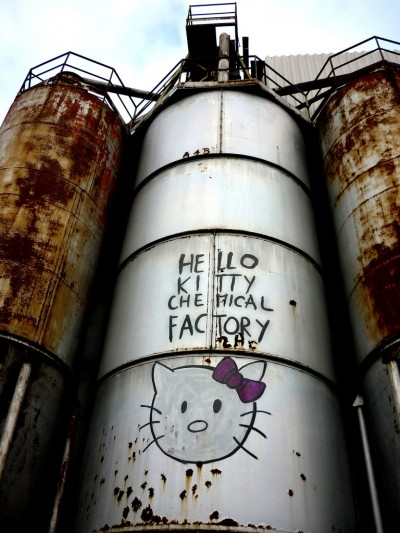 hello kitty chemical factory
