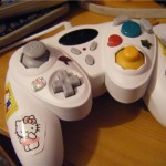 hello kitty gamecube controller