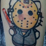 hello kitty jason tattoo