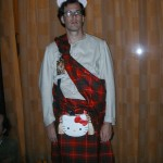 hello kitty kilt costume