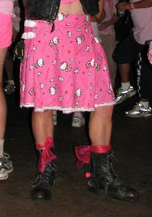Hello Kitty kilt