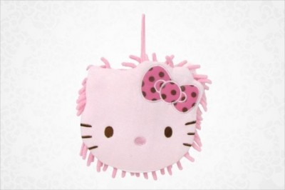 Hello Kitty mop with pink face
