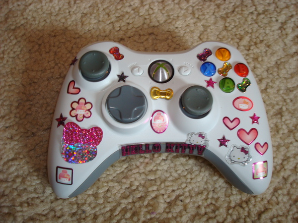 Hello Kitty Xbox Controller