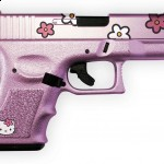 hello kitty pink gun