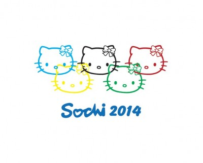 Hello Kitty Sochi Olympics 2014
