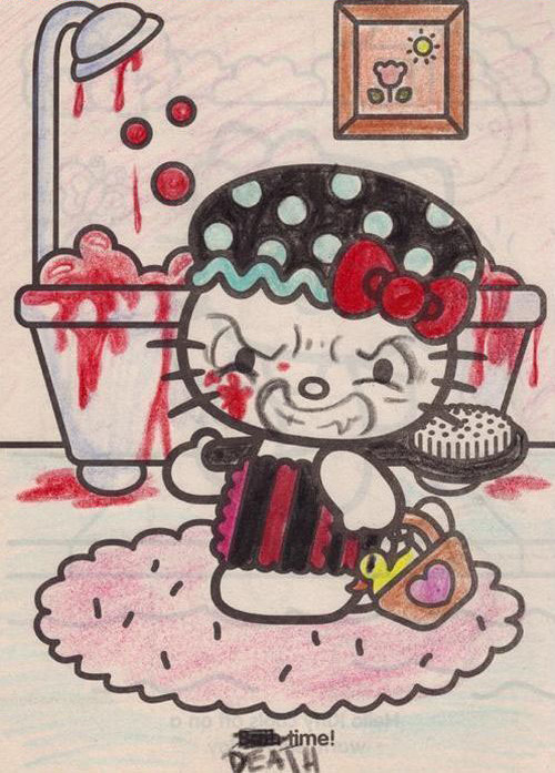 Hello Kitty Coloring Pages  Hello Kitty Hell