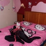 hello kitty bondage room