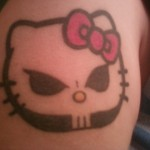 hello kitty growth chart tattoo