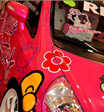 hello kitty Honda jazz