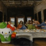 hello kitty last supper McDonalds