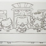 hello kitty last supper