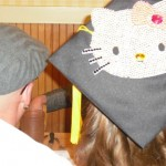 Hello Kitty grad cap