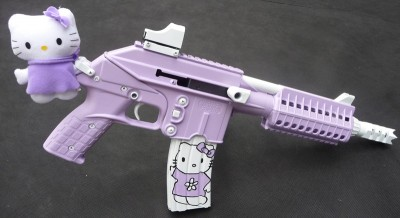 hello kitty keltec gun