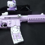 hello kitty keltec pistol