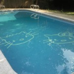 hello kitty swimming pool