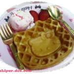 hello kitty waffle