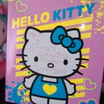 hello kitty wedding folder