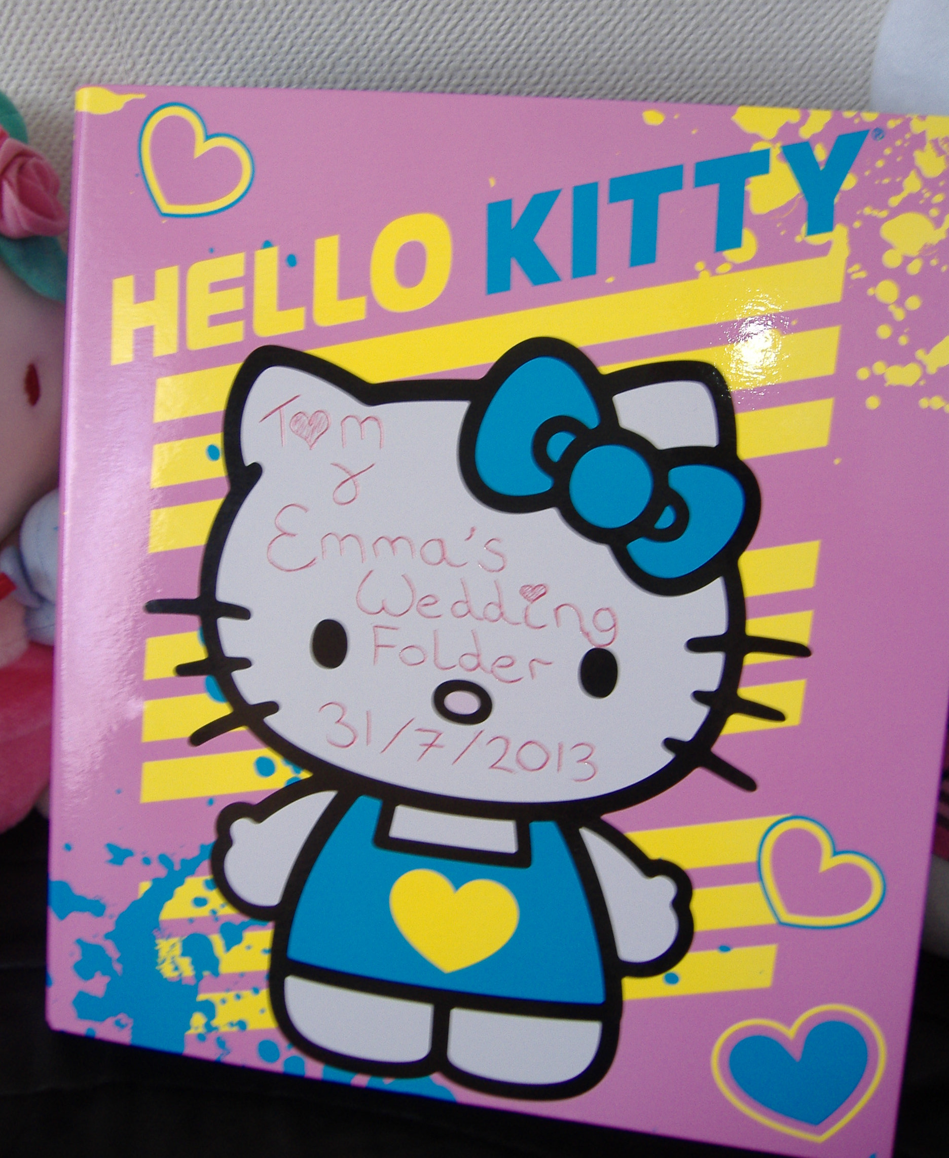 Hello Kitty Folders Target Hello Kitty Wedding Folder