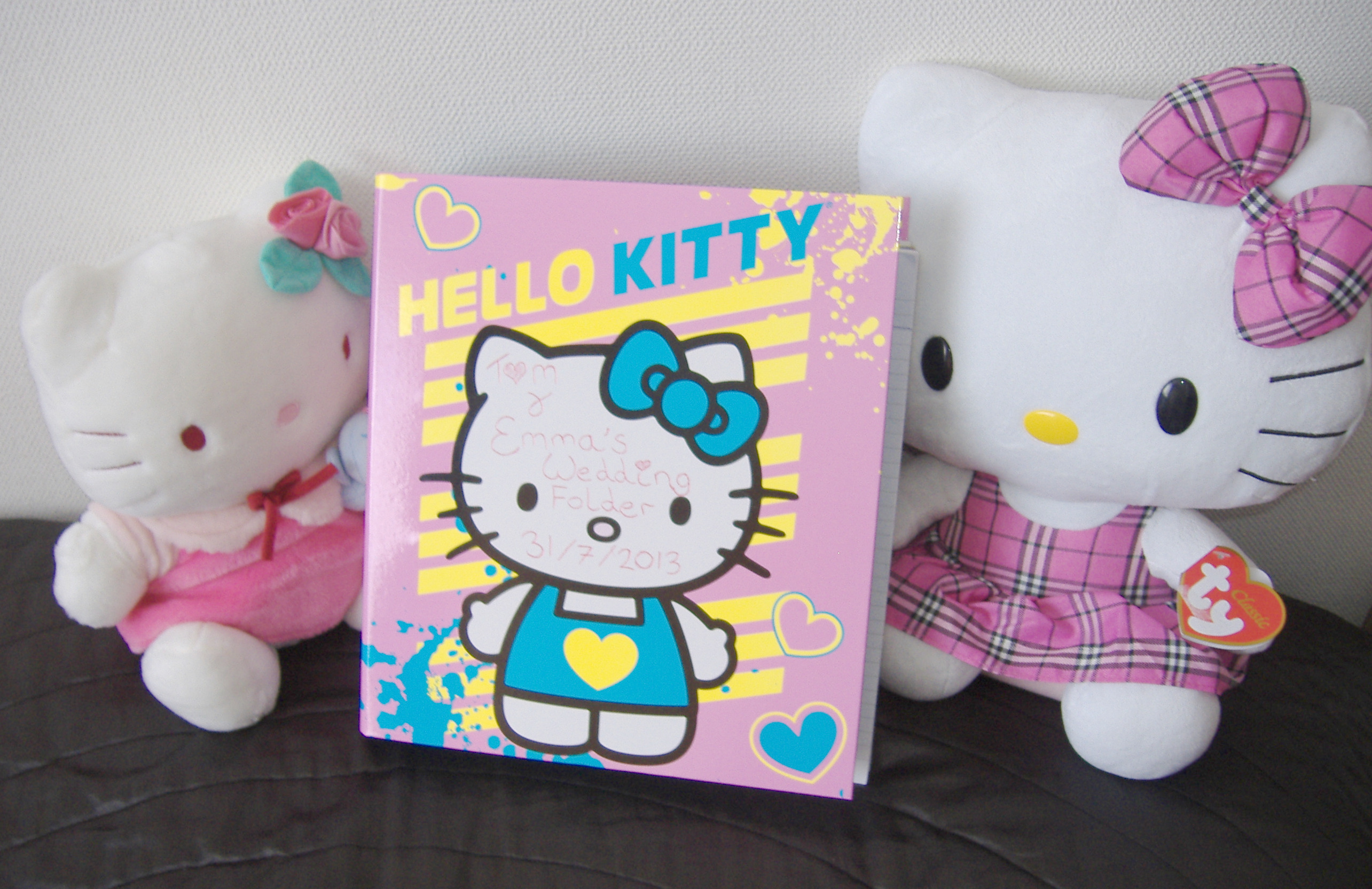 Folders de Hello Kitty Hello Kitty Wedding