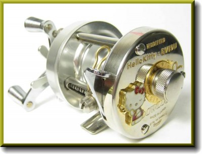 hello kitty fishing reel