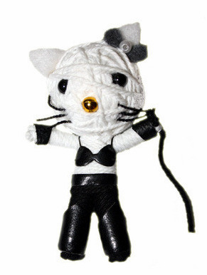 hello kitty s&m voodoo doll