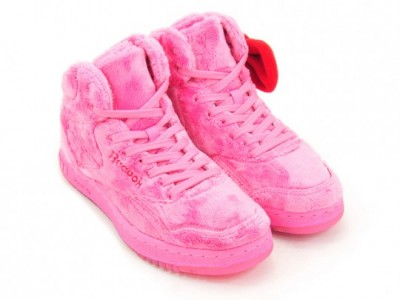 hello kitty Reebok plush sneakers