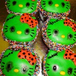 hello kitty halloween cupcakes