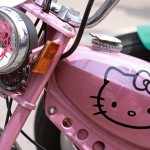 hello kitty moped