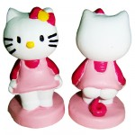 Hello Kitty pink waste