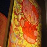 hello kitty million dollar painting