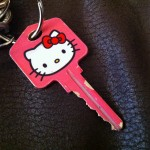 hello kitty key