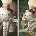 hello kitty chandelier