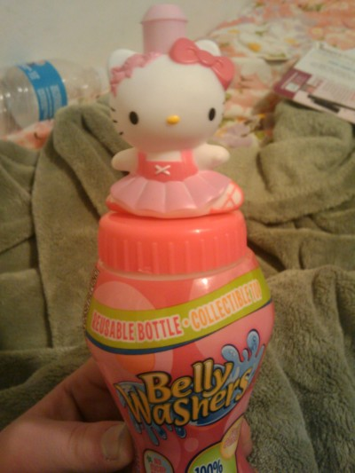 hello kitty belly washers drink