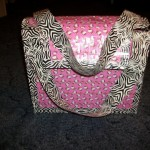 hello kitty duct tape purse