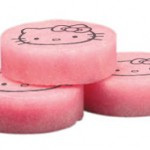 hello kitty urinal cakes